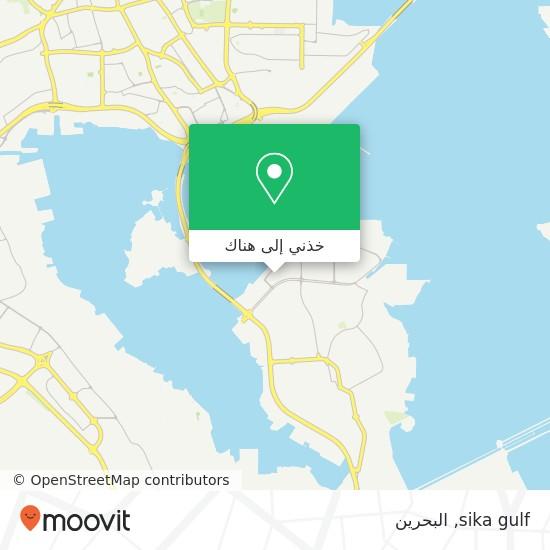 خريطة sika gulf