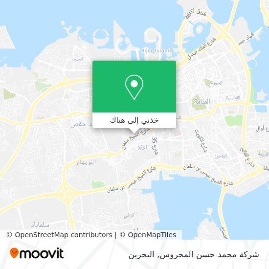 خريطة شركة محمد حسن المحروس