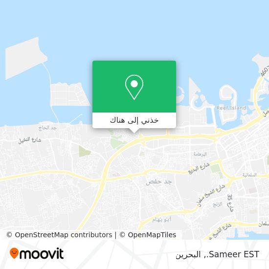 خريطة Sameer EST.