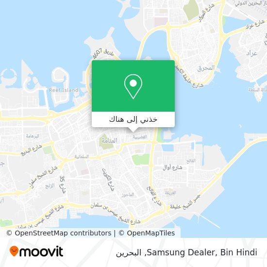 خريطة Samsung Dealer, Bin Hindi