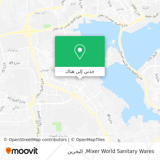 خريطة Mixer World Sanitary Wares