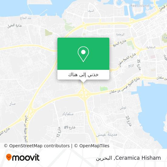 خريطة Ceramica Hisham