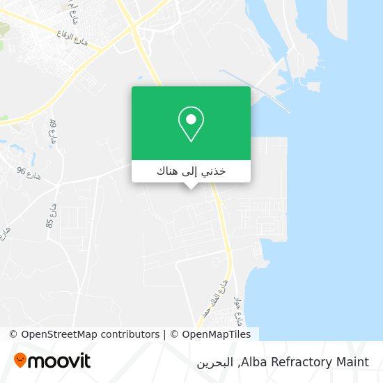 خريطة Alba Refractory Maint