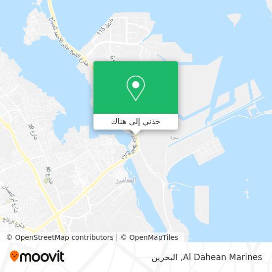 خريطة Al Dahean Marines