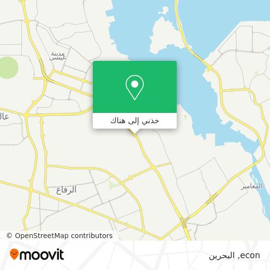 خريطة econ