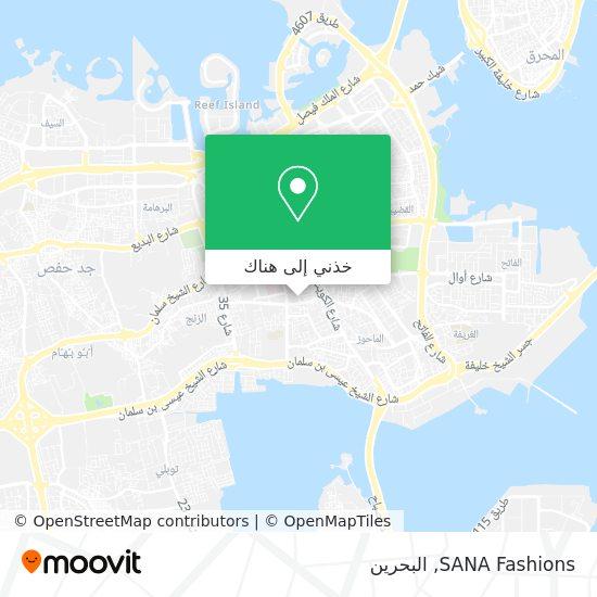 خريطة SANA Fashions