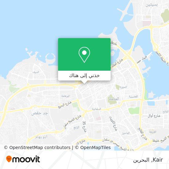 خريطة Kair