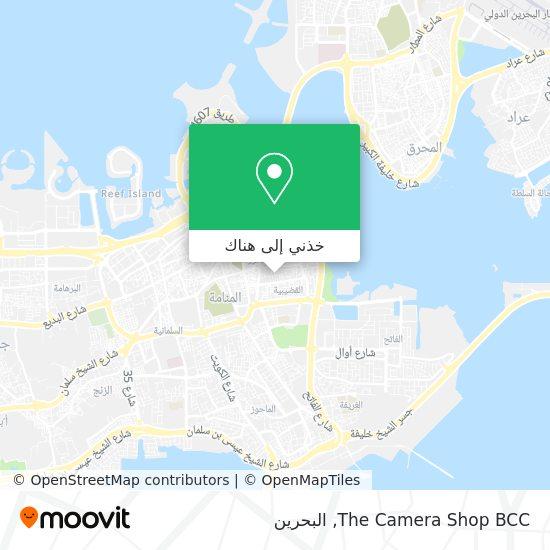 خريطة The Camera Shop BCC