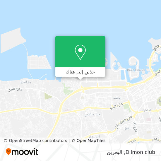 خريطة Dilmon club