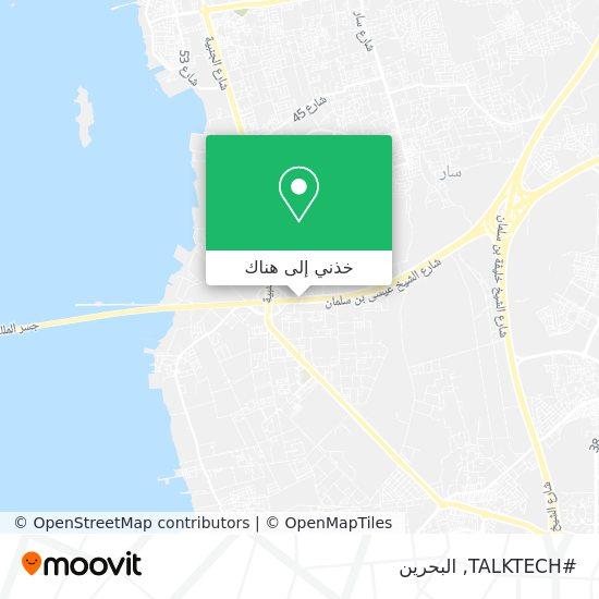 خريطة #TALKTECH