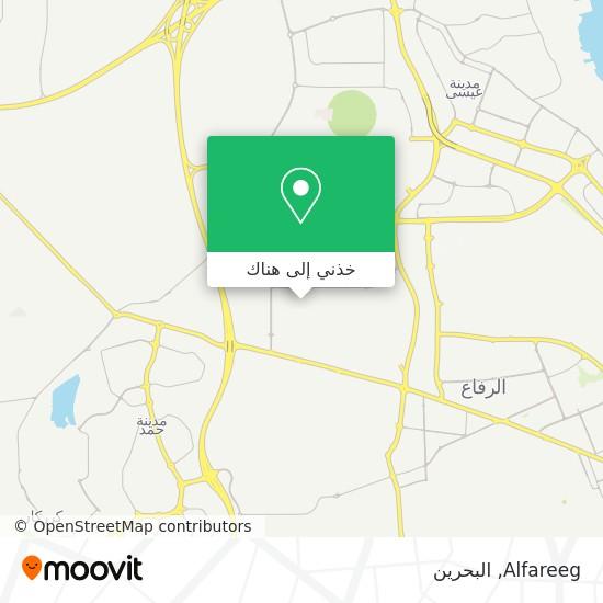خريطة Alfareeg