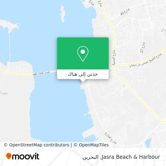 خريطة Jasra Beach & Harbour