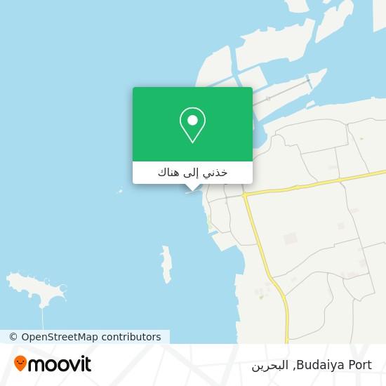 خريطة Budaiya Port