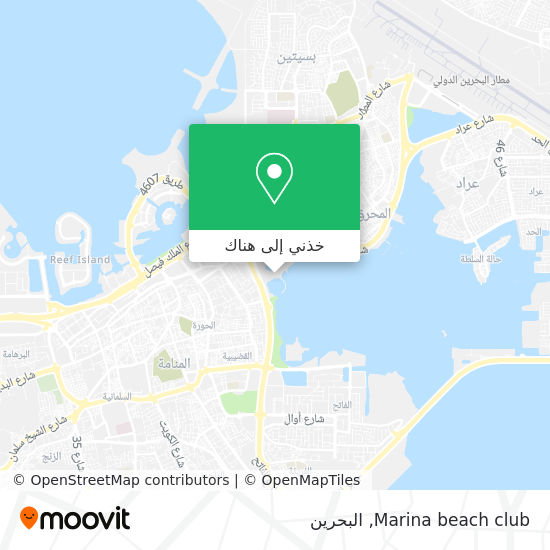 خريطة Marina beach club