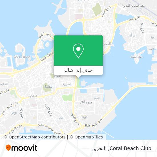 خريطة Coral Beach Club