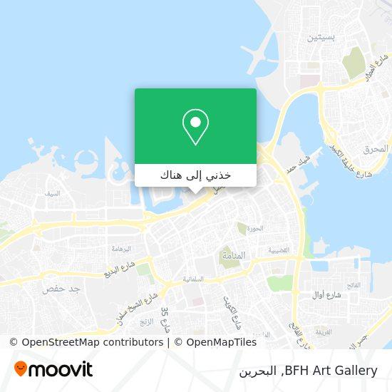 خريطة BFH Art Gallery