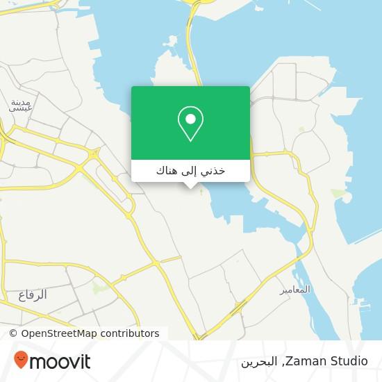 خريطة Zaman Studio