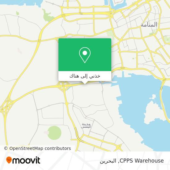 خريطة CPPS Warehouse
