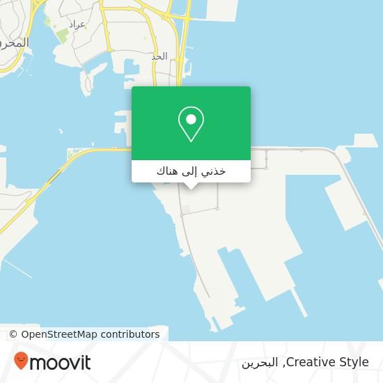 خريطة Creative Style