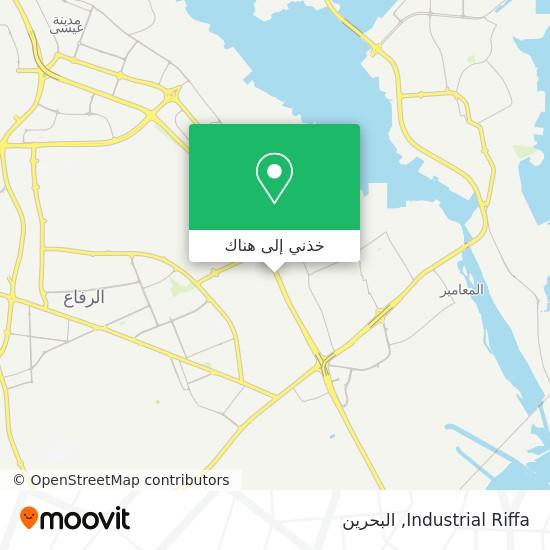 خريطة Industrial Riffa