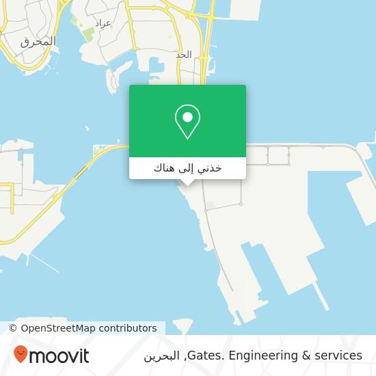 خريطة Gates. Engineering & services
