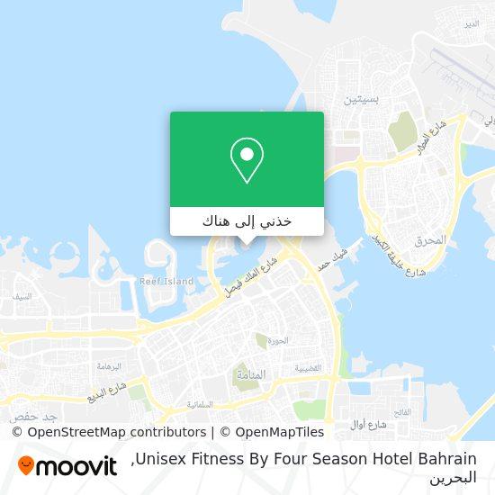 خريطة Unisex Fitness By Four Season Hotel Bahrain