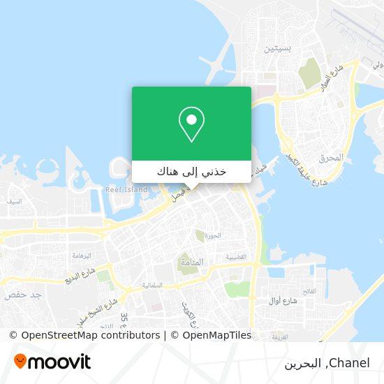 خريطة Chanel