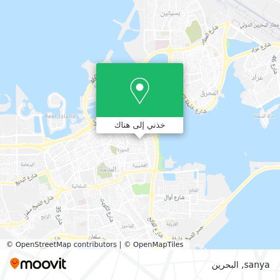 خريطة sanya