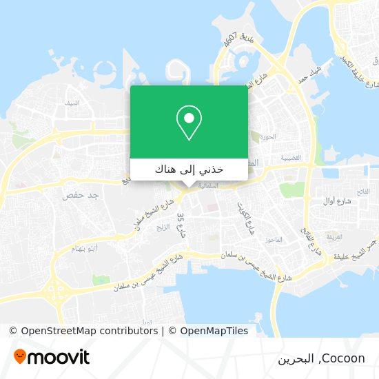خريطة Cocoon