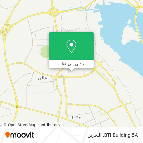 خريطة BTI Building 5A