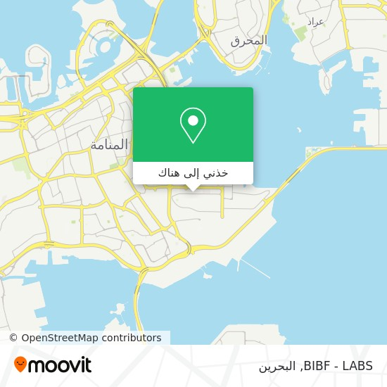 خريطة BIBF - LABS