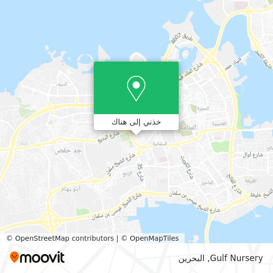 خريطة Gulf Nursery