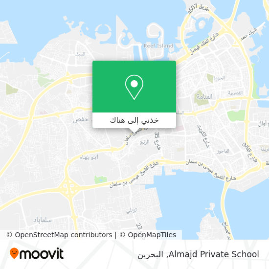 خريطة Almajd Private School