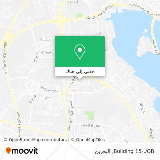 خريطة Building 15-UOB