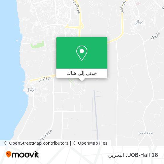 خريطة UOB-Hall 18