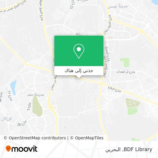خريطة BDF Library