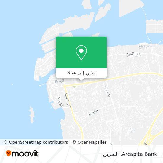 خريطة Arcapita Bank