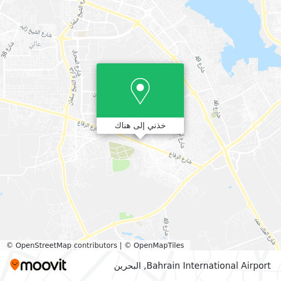خريطة Bahrain International Airport