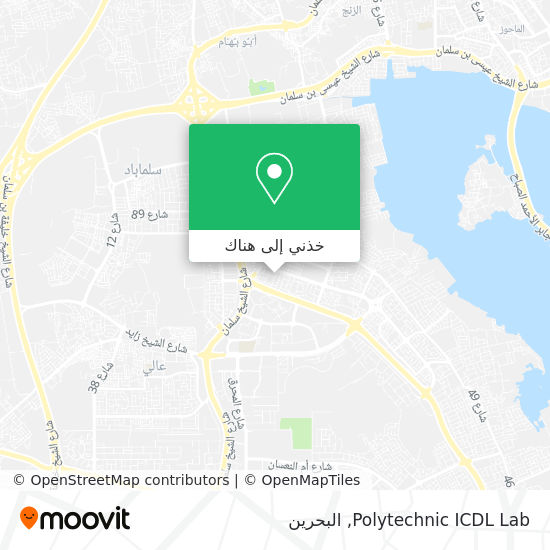 خريطة Polytechnic ICDL Lab