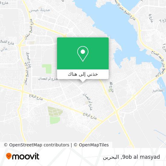 خريطة 9ob al masyad