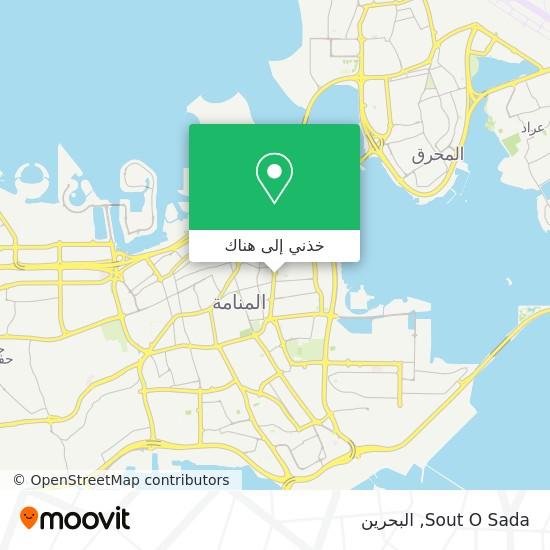 خريطة Sout O Sada
