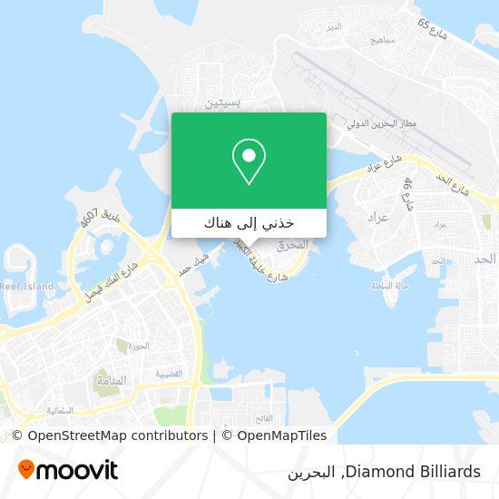 خريطة Diamond Billiards