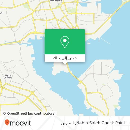 خريطة Nabih Saleh Check Point