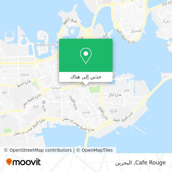 خريطة Cafe Rouge