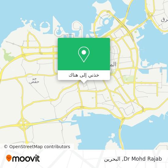 خريطة Dr Mohd Rajab