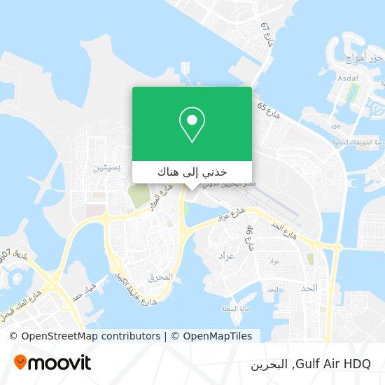 خريطة Gulf Air HDQ
