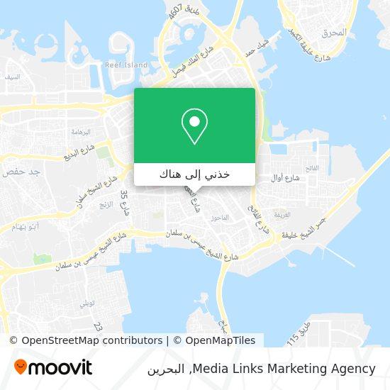 خريطة Media Links Marketing Agency