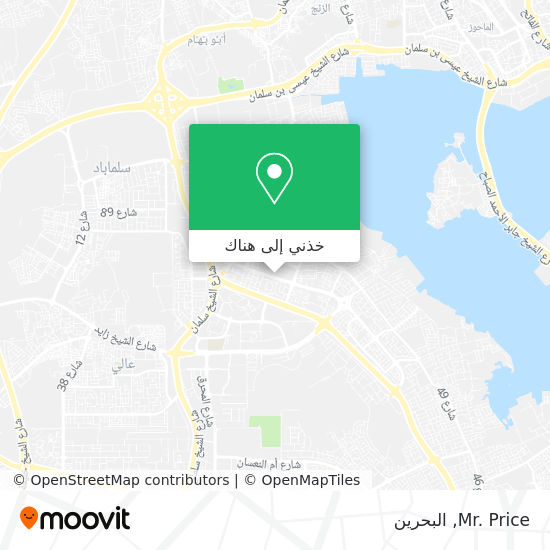 خريطة Mr. Price