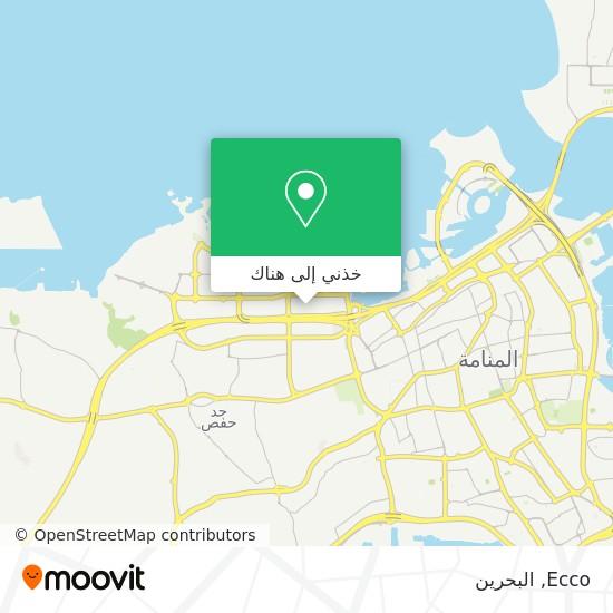 خريطة Ecco