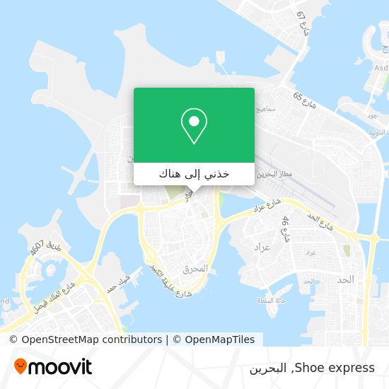 خريطة Shoe express